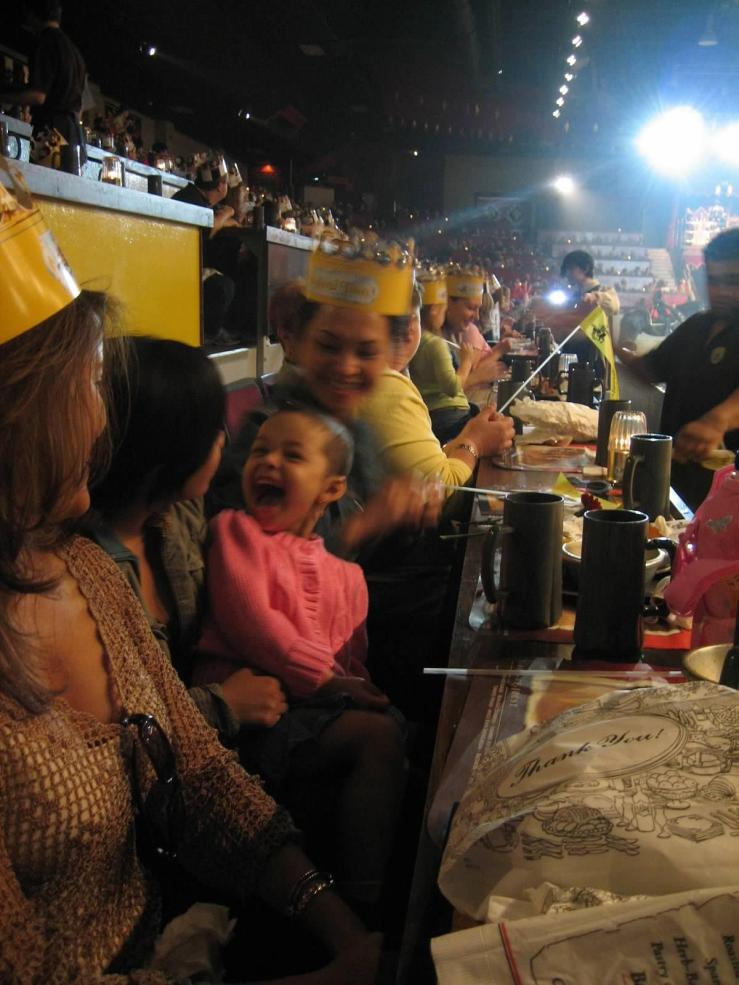 Family nights at Medieval Times